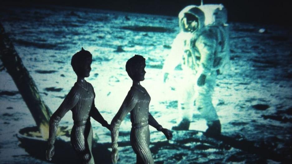 """""""Moonwalk Apollo II,"""" from the series """"Tourism"""" (1984)"""
