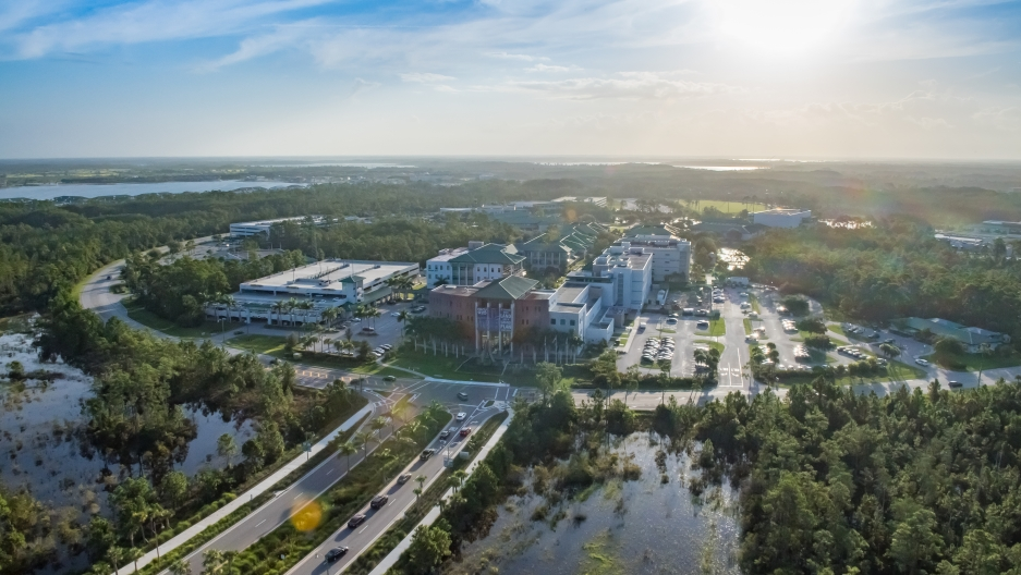 """This is the first semester Florida Gulf Coast University, near Fort Myers, is offering a class called """"white racism."""""""