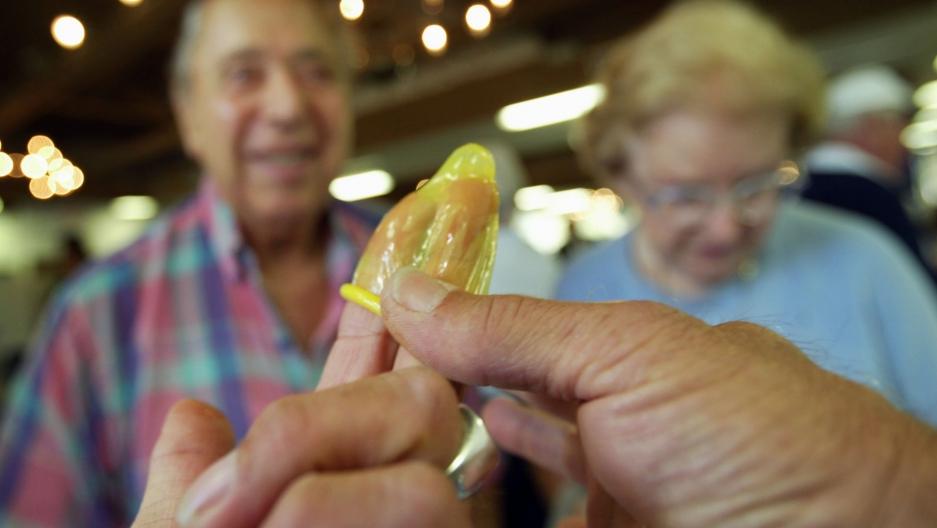 percent of sexually active senior citizens in Visalia