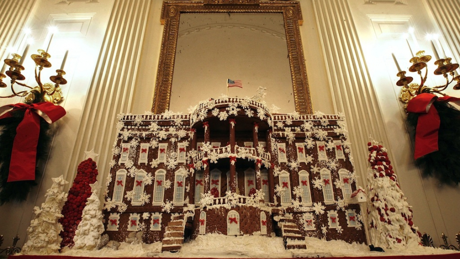 White House Christmas A History Of The Gingerbread House