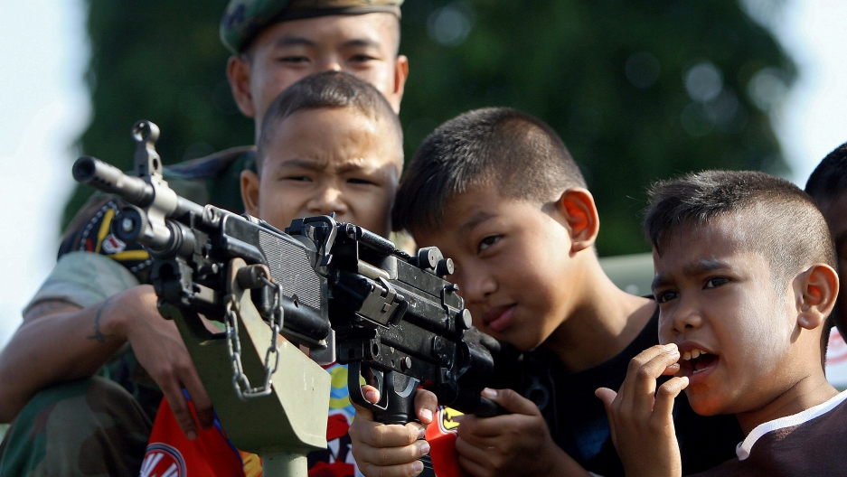 how to help stop child soldiers