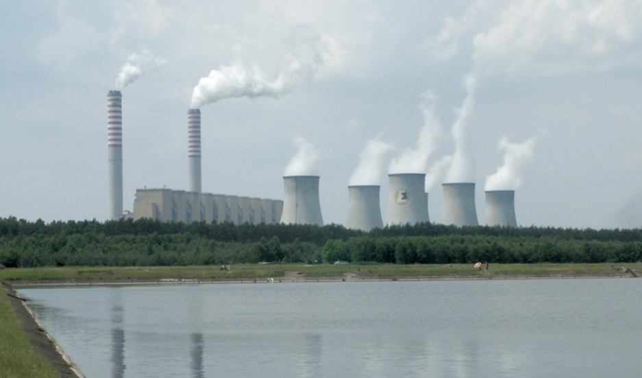 A Polish coal power plant