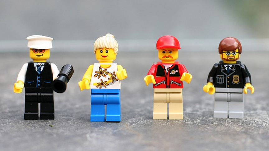 Lego city people.
