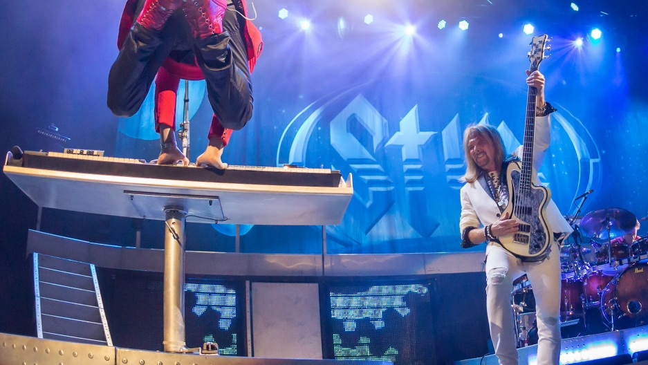 Styx performing at the HEB Center in Cedar Park, Texas on July 31, 2017.