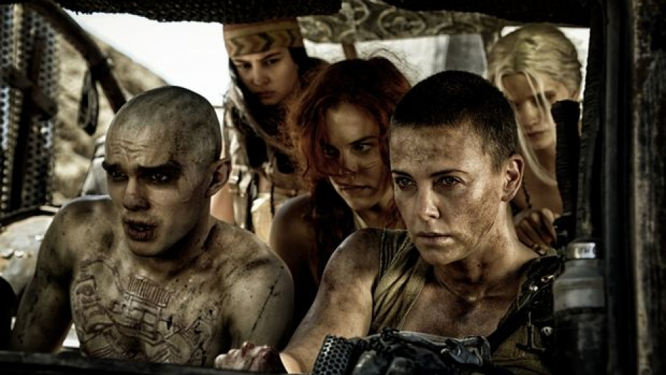 "Imperator Furiosa (Charlize Theron) leads an escape in ""Mad Max: Fury Road"" (Jasin Boland)"
