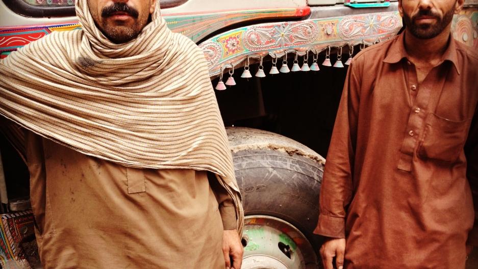 Pakistan truck art