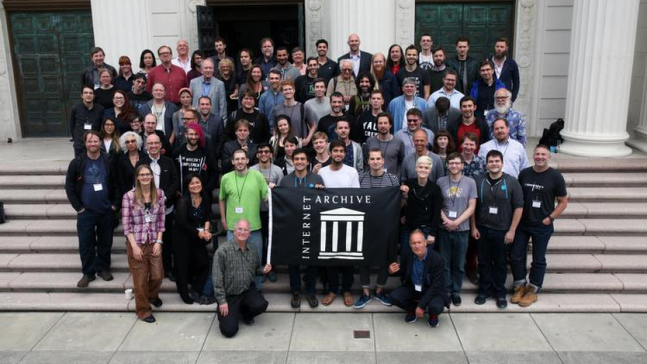 Internet Archive staff in San Francisco