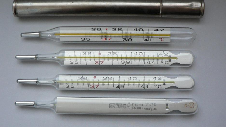 Mercury thermometers