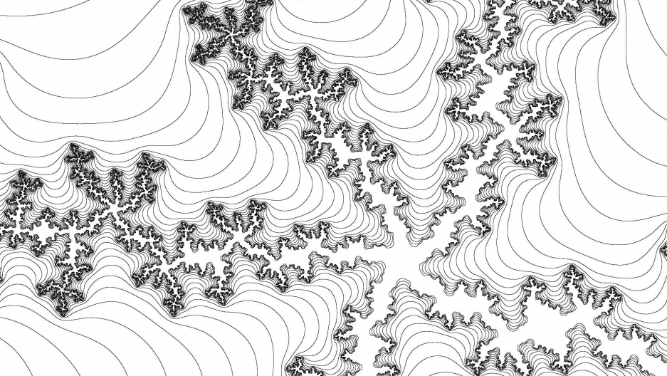 "Coloring Book ""Patterns Of The Universe"" Features The Visual Beauty Of  Mathematics"