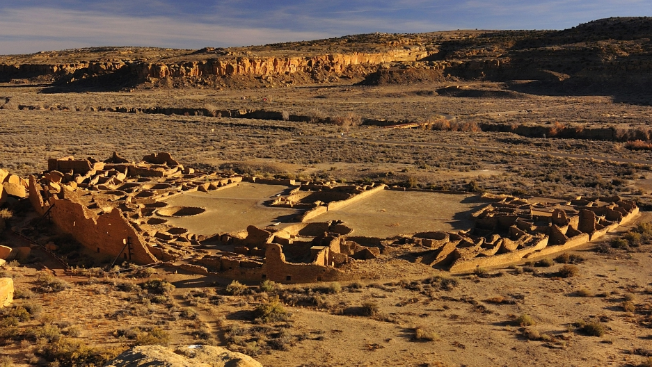 Pueblo Bonito in New Mexico's San Juan Basin. Photo courtesy of Nate Crabtree, http://www.natecrabtreephotography.com.