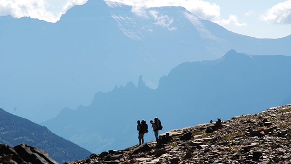 The USGS is studying the impacts of climate change in Glacier National Park in Montana (Photo: United States Geologic Survey)
