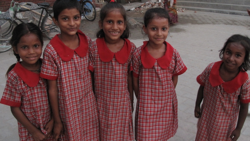 Prerna School Girls in India