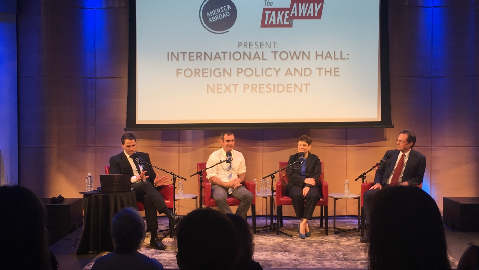 Town hall recording at WNYC's Greene Space