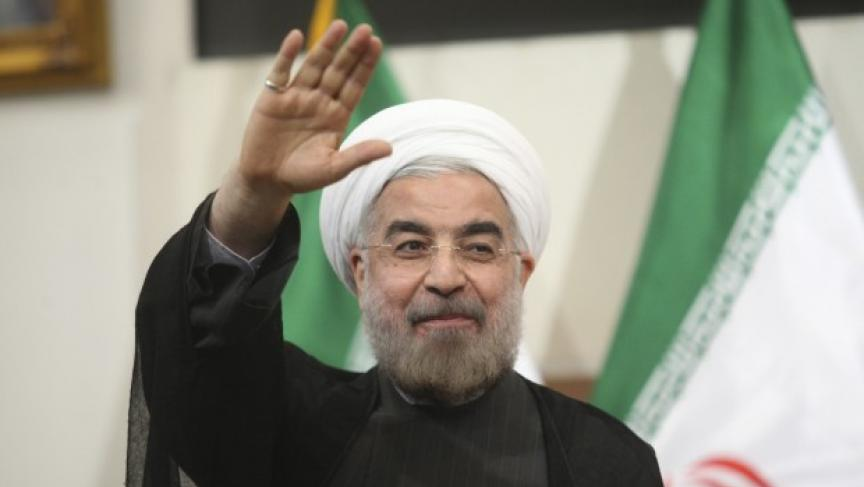 Iranian President-elect Hassan Rohani gestures to the media during a news conference in Tehran June 17, 2013. (Photo: REUTERS/Fars News/Majid Hagdost)