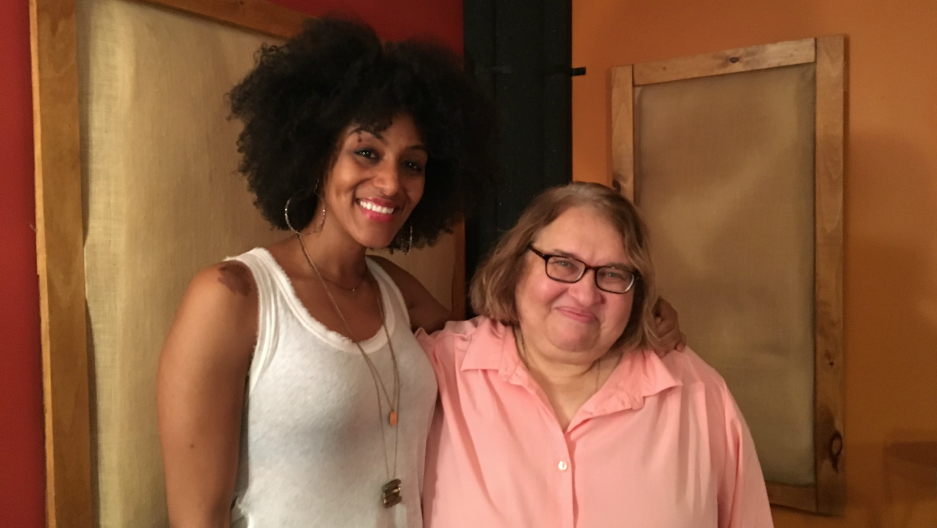 Sarah Jones and Sharon Salzberg