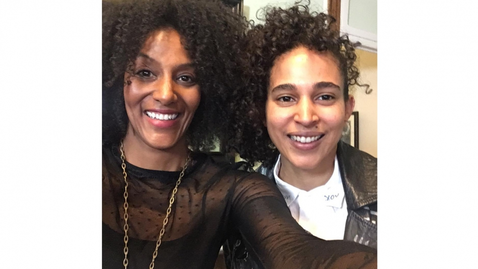 Sarah Jones and Shantell Martin