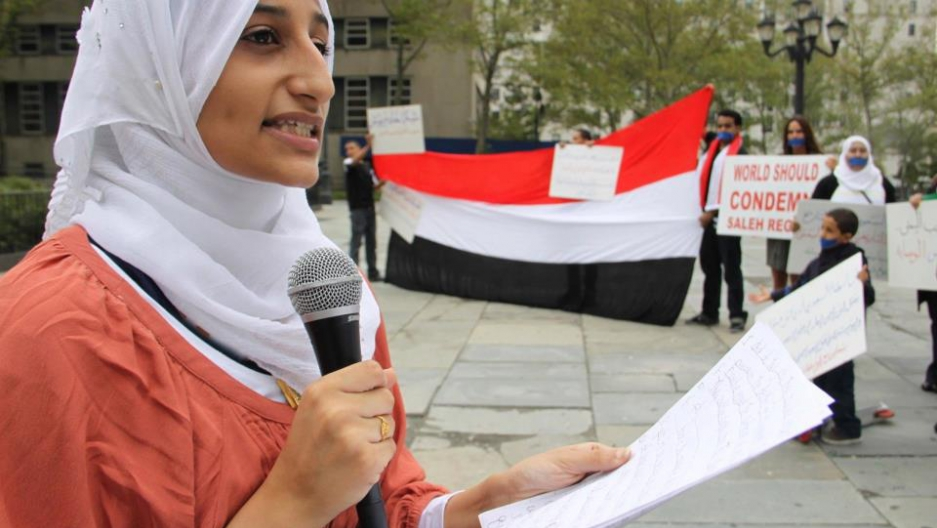 Summer Nasser, Yemeni-American college student and small business owner.