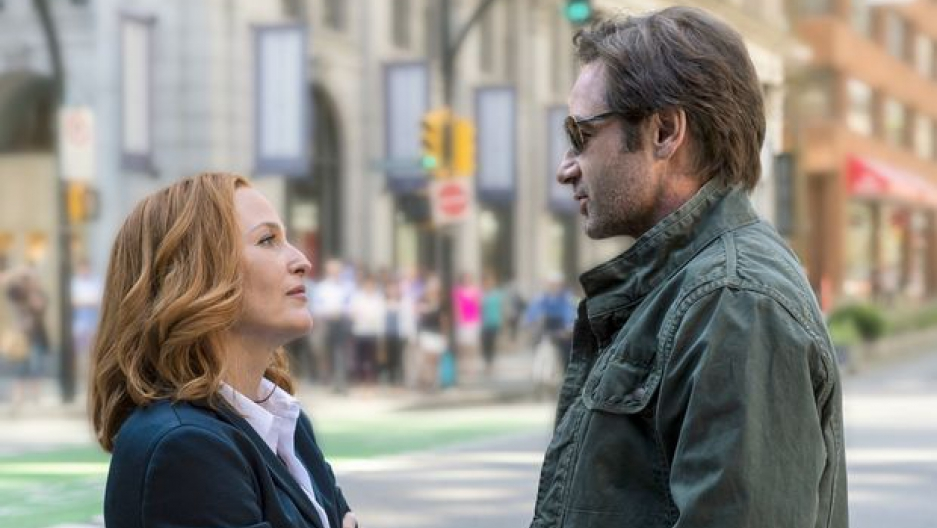 Mulder and Scully return in a six-part re-launch of The X-Files (Ed Araquel/FOX)