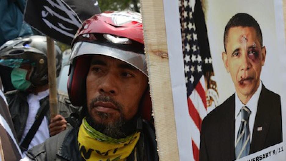 Indonesia: anti-US protests turn ugly | Public Radio