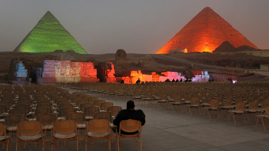 "Egypt pyramid closure prevents 11/11/11 ""meditation"