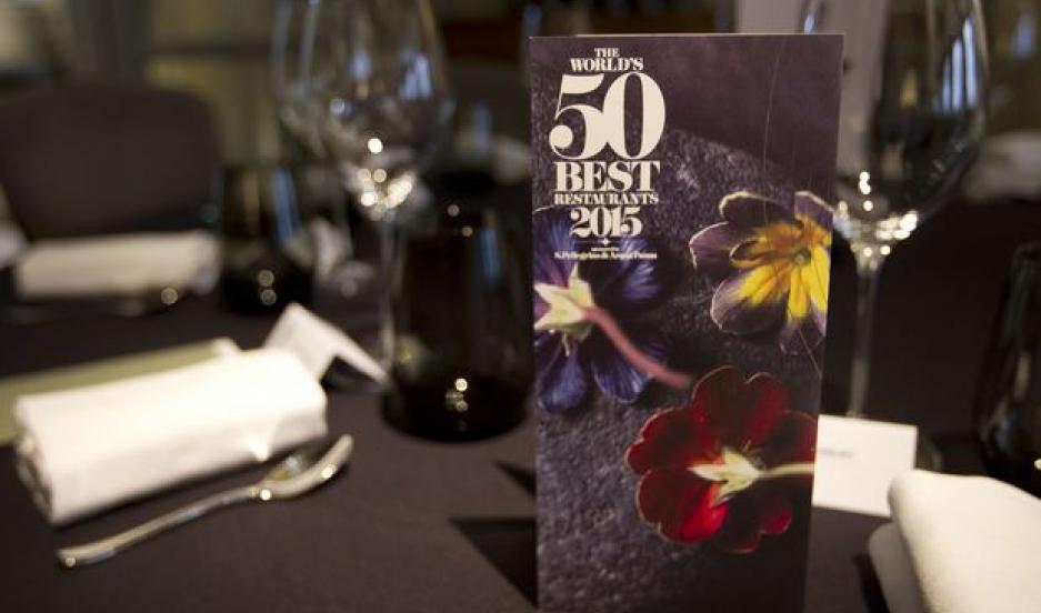 World's 50 Best Restaurants reception