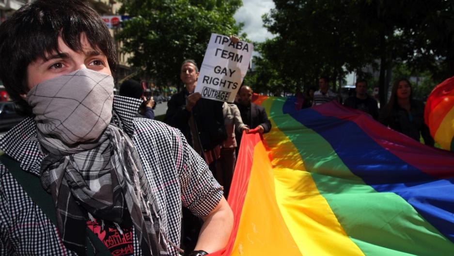 Русский гей в москве