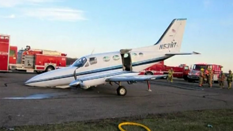 Audio released from 80-year-old pilot's emergency landing