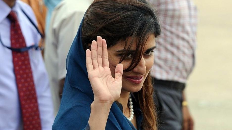 Pakistan's new foreign minister Hina Rabbani Khar (PHOTOS