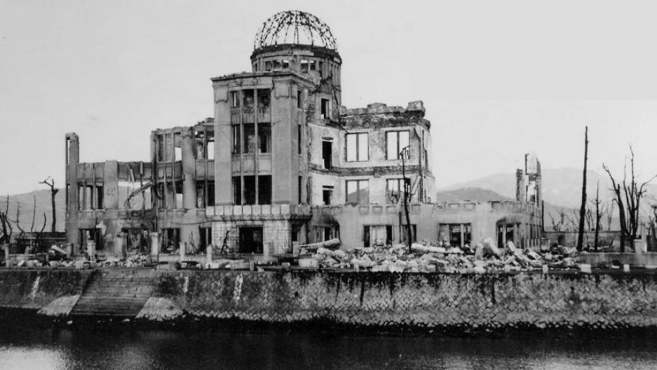 hiroshima 70th anniversary atomic bomb attack genbaku dome before slider