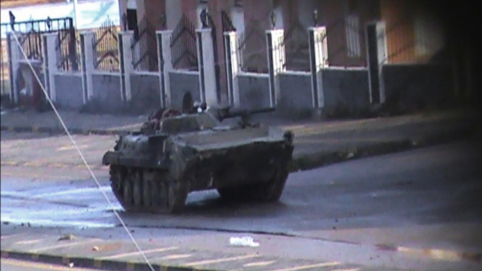 Live feed from Syria gives window into crackdown (VIDEO