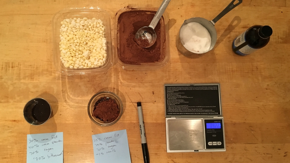 A little kitchen science