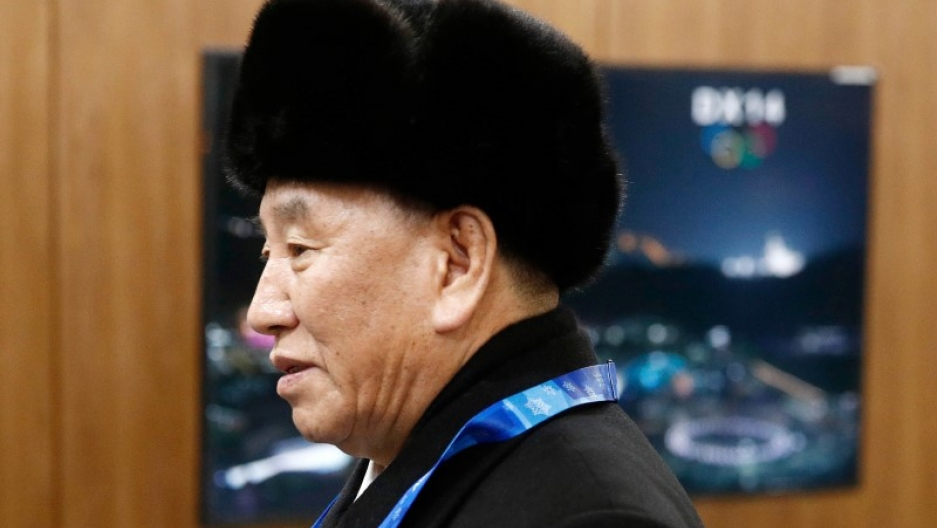 Kim Yong Chol, vice chairman of North Korea's ruling Workers' Party Central Committee
