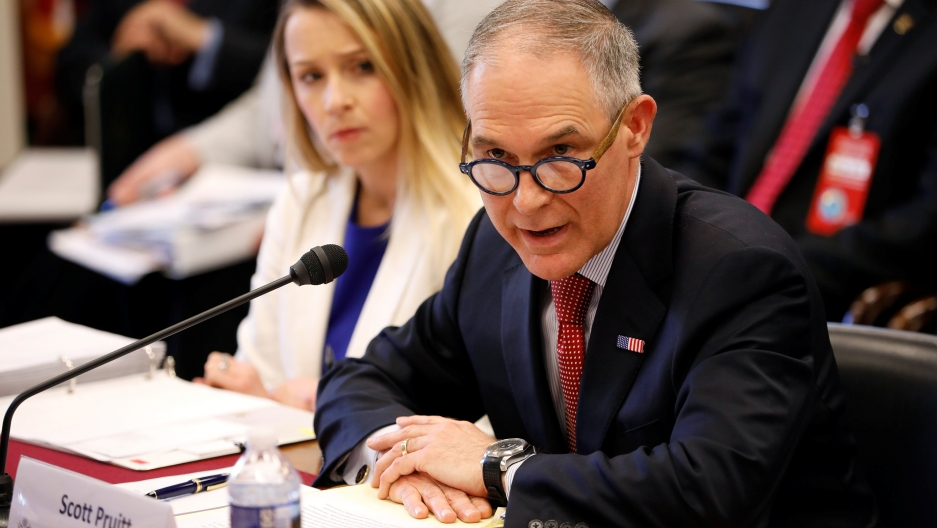 Scott Pruitt at Congress