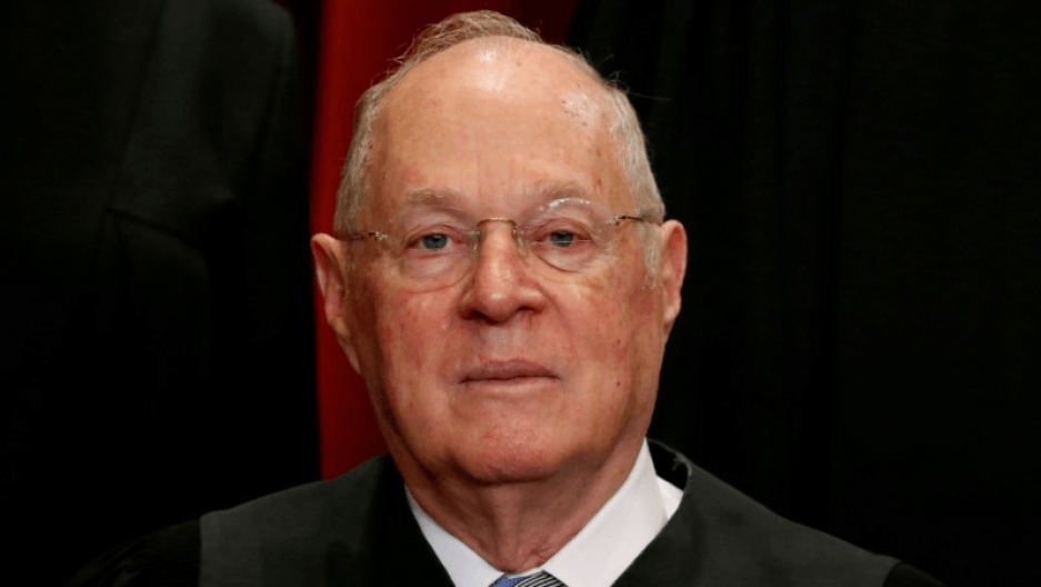 a portrait of US Supreme Court Justice Anthony Kennedy