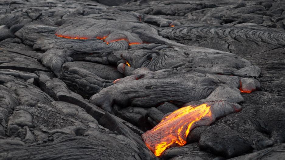 Lava and basalt