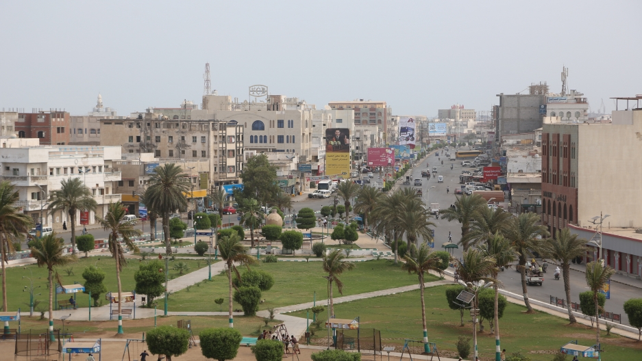 A view of the Red Sea port city of Hodeidah, Yemen May 10, 2017
