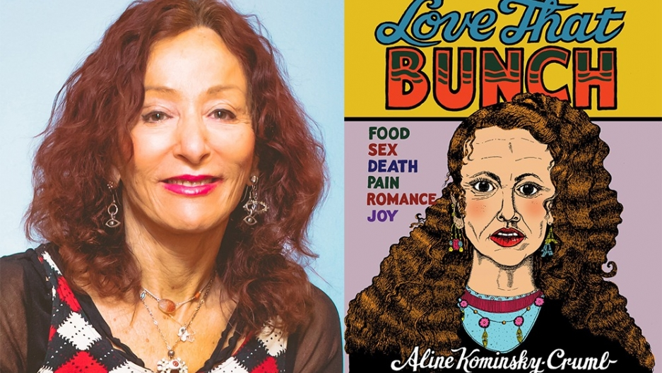 "The artist Aline Kominsky-Crumb and her anthology of autobiographical comics, ""Love That Bunch."""