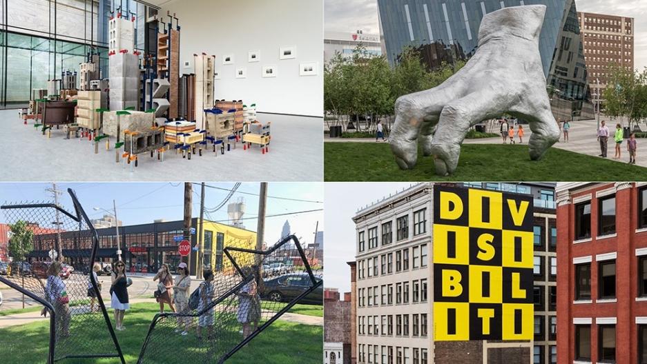 Contemporary art comes to Cleveland.