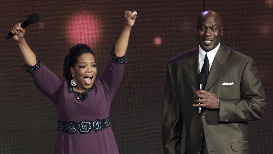 oprah winfrey and michael jordan together