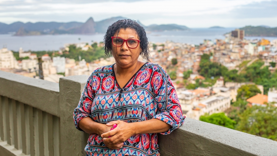 Maria Vera Lucia Terno da Silva, 51, has worked as a domestic employee since she was 19.