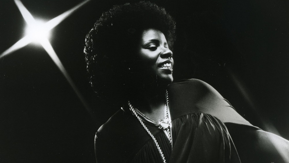 Gloria Gaynor performs in 1975.