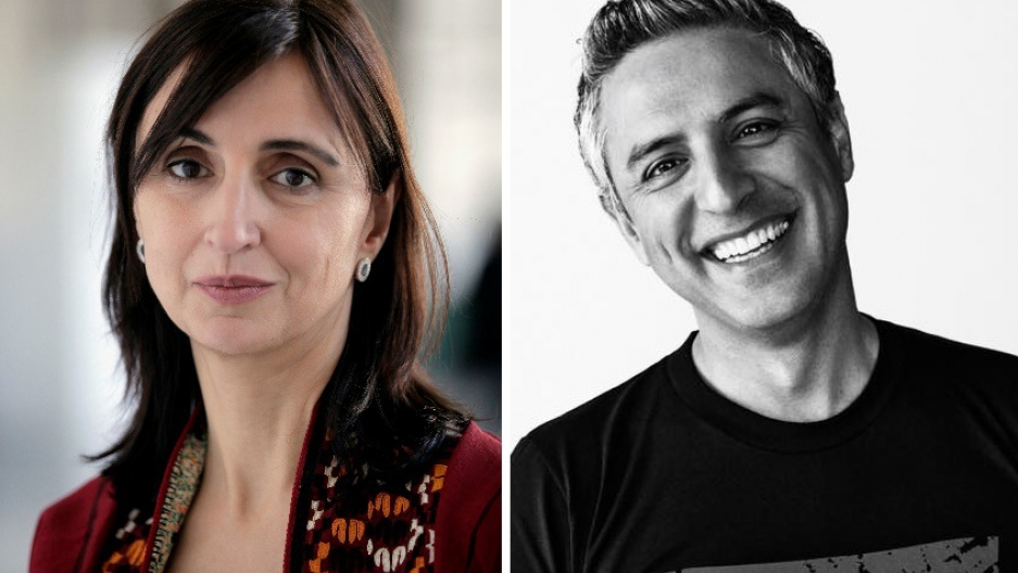 Roya Hakakian and Reza Aslan