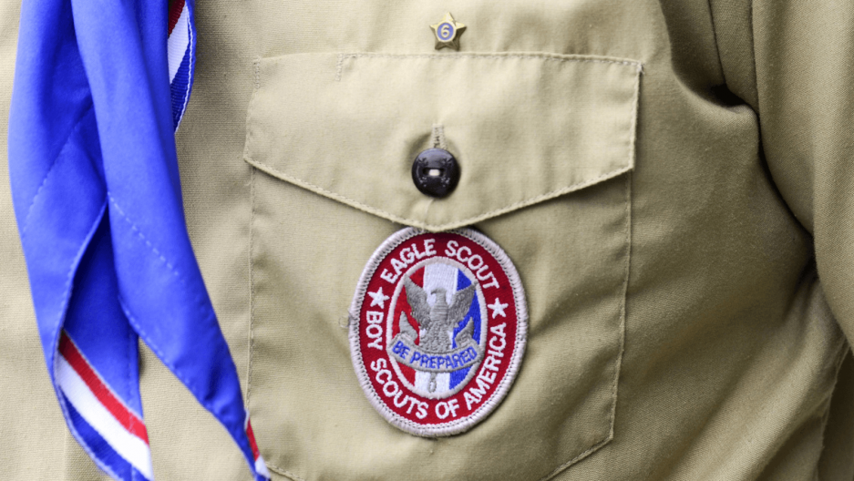 a boy scouts of america uniform