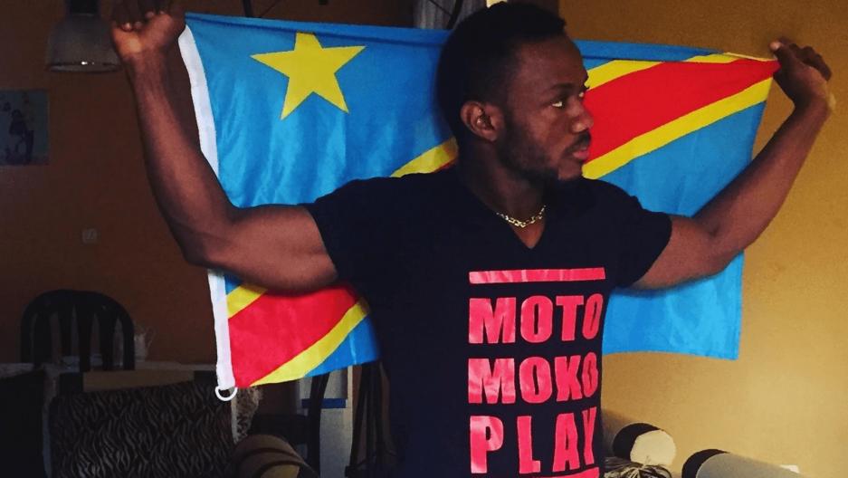 Congolese artist Bob Elvis