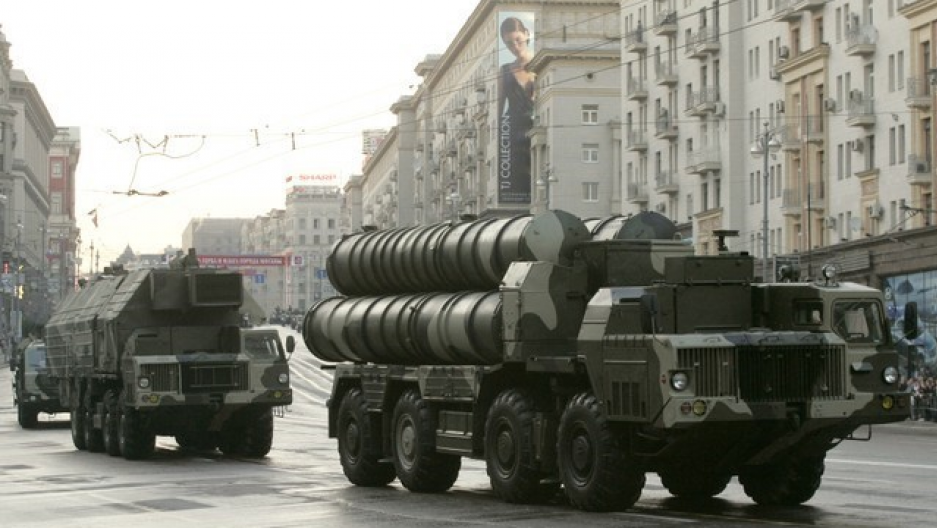 russian s-300 surface-to-air missiles