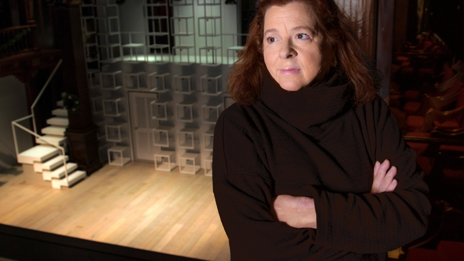 Playwright Theresa Rebeck