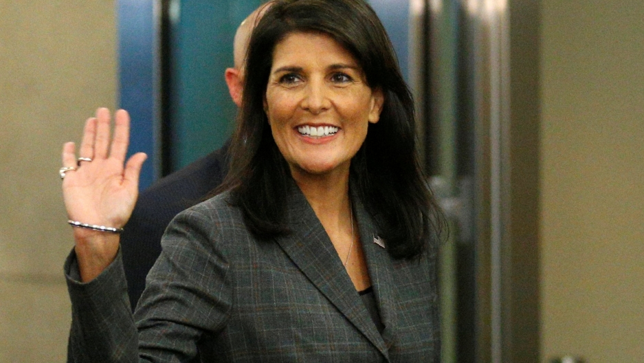 US Ambassador to the United Nations Nikki Haley resigns