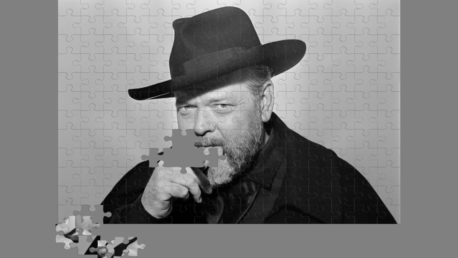 Puzzling over Orson Welles' uncompleted opus.