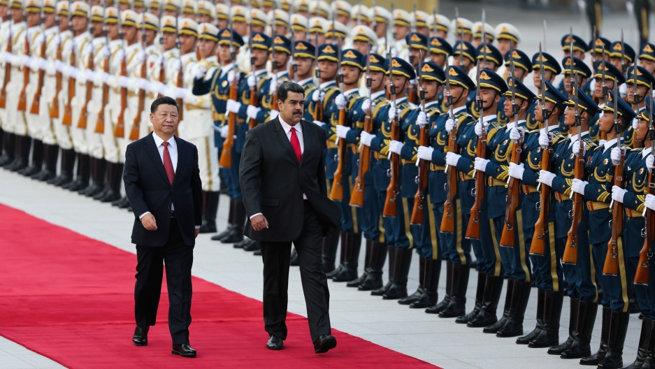 Image result for Maduro, beijing, Xi Jinping, pictures