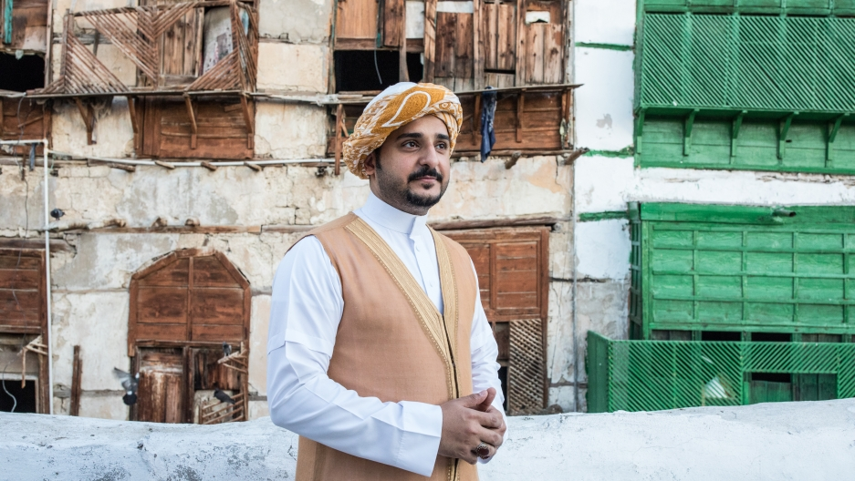 Kamal, a tour guide in Jeddah, Saudi Arabia.